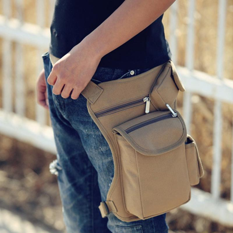 Men Canvas Drop Leg Bag