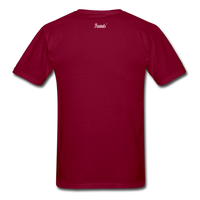Buy Black T-Shirt - burgundy