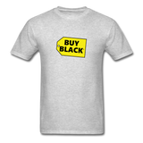 Buy Black T-Shirt - heather gray