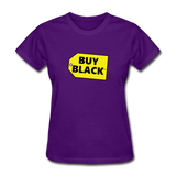 Women's Buy Black T-Shirt - purple