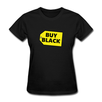 Women's Buy Black T-Shirt - black