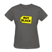 Women's Buy Black T-Shirt - charcoal