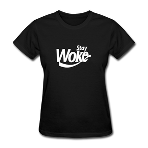 Women's Stay Woke T-Shirt - black