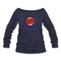 Drama Queen Women's Wideneck Sweatshirt - melange navy