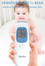 Load image into Gallery viewer, Digital Infrared Temporal Medical Thermometer