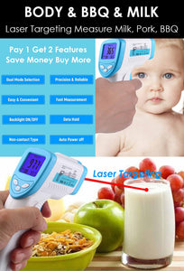 Medical Infrared Thermometer Non-contact Forehead