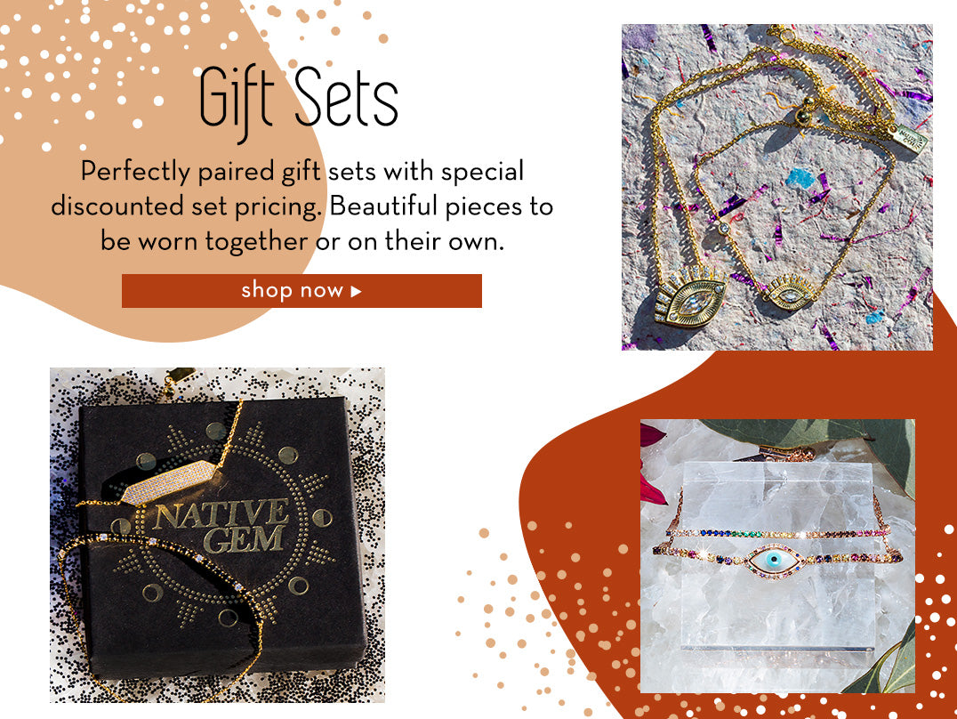 gift sets at nativegemjewelry.com