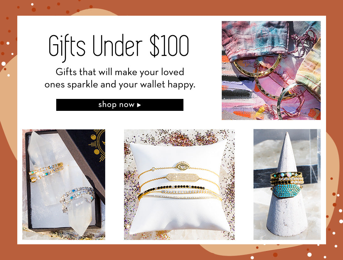 gifts under 100 at nativegemjewelry.com