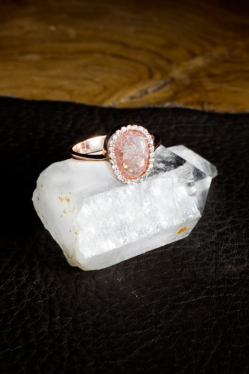Dusty Rose ring