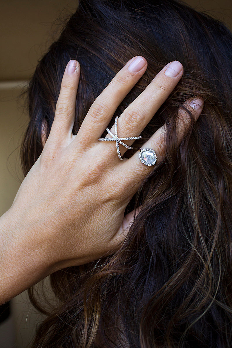 sterling silver delicate rings