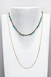 WAVERLY imperial jasper layered necklace