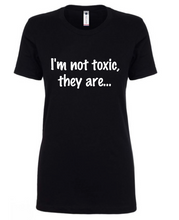 Load image into Gallery viewer, Toxicity Tee - Women