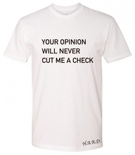 Load image into Gallery viewer, Cut Me A Check Tee - Men