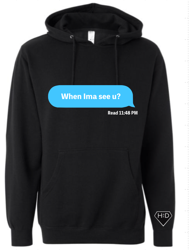 Left on Read Hoodie
