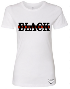 Black Excellence Tee - Women