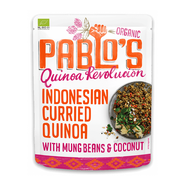 Indonesian Curried Quinoa with Mung Beans & Coconut 210 gram - Organic & Gluten Free