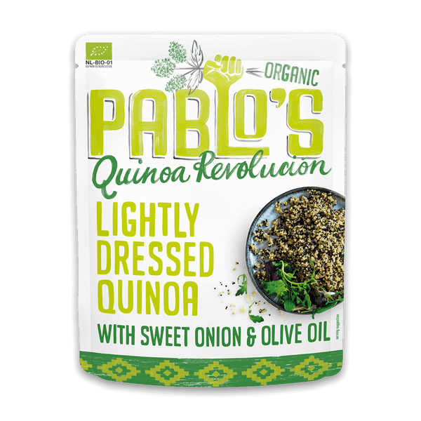 Lightly Dressed Quinoa with Sweet Onion & Olive Oil 210 gram - Organic & Gluten Free