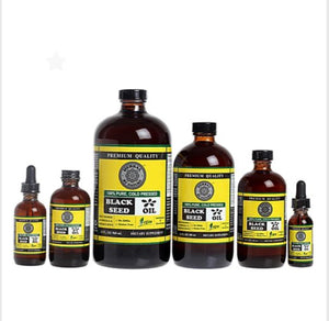 BLACK SEED OIL 100% COLD PRESSED PREMIUM QUALITY