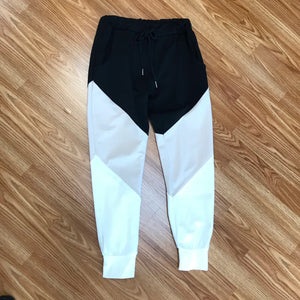 Color Block Joggers