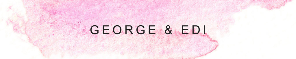 George and Edi scented candles at The Frock Shop