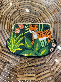 Craft Me Up - Handmade Coin Purse, Jungle Tiger