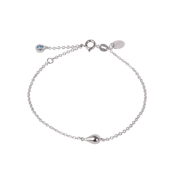 Boh Runga - Drop In The Ocean Bracelet, Silver