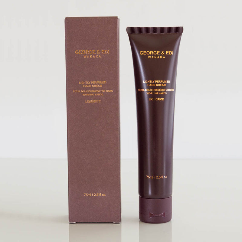 George & Edi - Lightly Perfumed Hand Cream, Liquorice