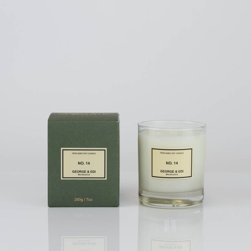 George & Edi - Soy Candle , No. 14
