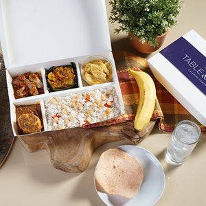 Table and Tray Indonesian Meal Box