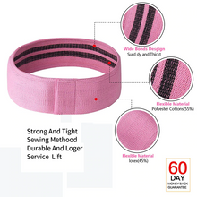 Load image into Gallery viewer, Fully Adjustable - Hip/Glute Resistance Band Set