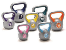 Load image into Gallery viewer, Plastic Coated Kettlebells - Various Weights