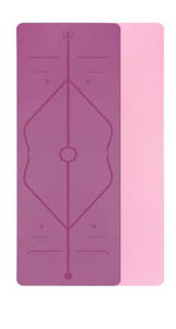 TPE Alignment Yoga Mat