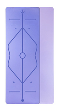 Load image into Gallery viewer, TPE Alignment Yoga Mat