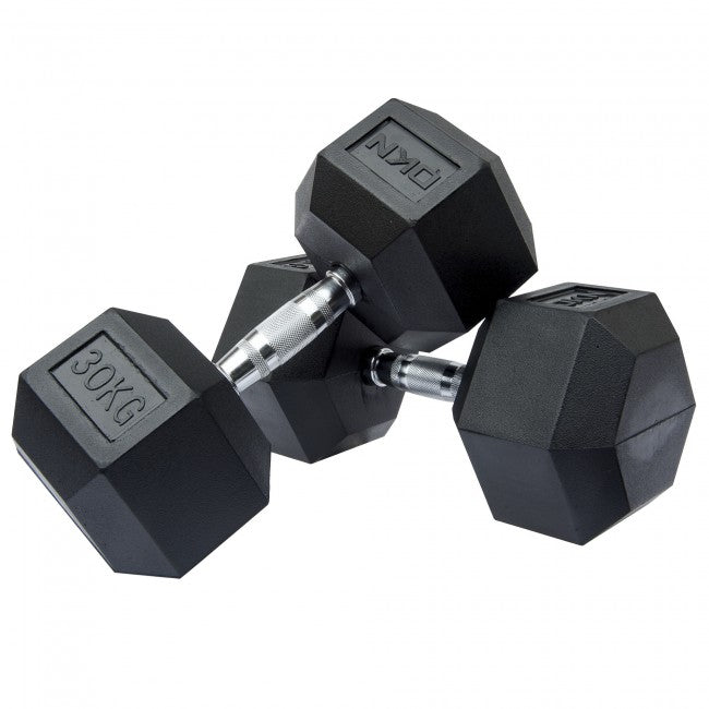 Hexagon Dumbbells - Various Weights