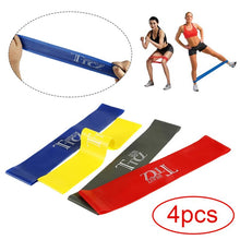 Load image into Gallery viewer, TTCZ - 4 Level Rubber Resistance Bands