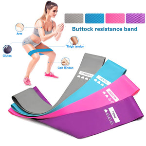 4 Resistance Bands - Various Strengths