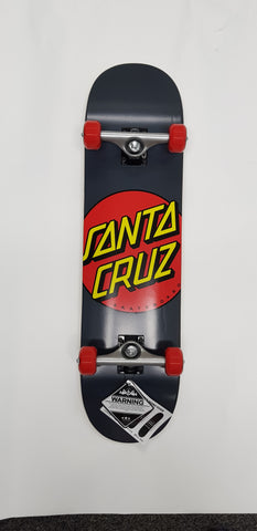 Santa Cruz Dot Grey 8'0 Skateboard