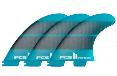 FCS II Fins Performer Thruster