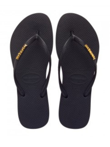 Havianas Slim Metal Logo Jandal