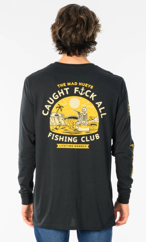 Mad Hueys Caught FA Longsleeve Tee