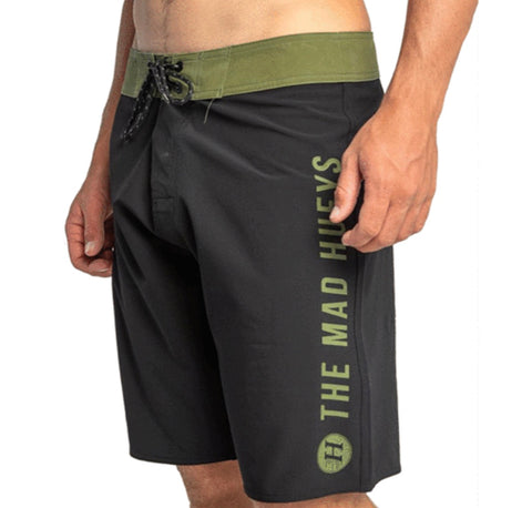 The Mad Hueys Plain Jane Boardshort