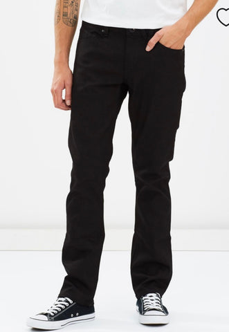 Volcom Vorta Jean Black on Black