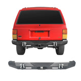 Destroyer Rear Bumper w/2 ×18W LED Floodlights for Jeep Cherokee XJ 1984-2001 BXG321 1