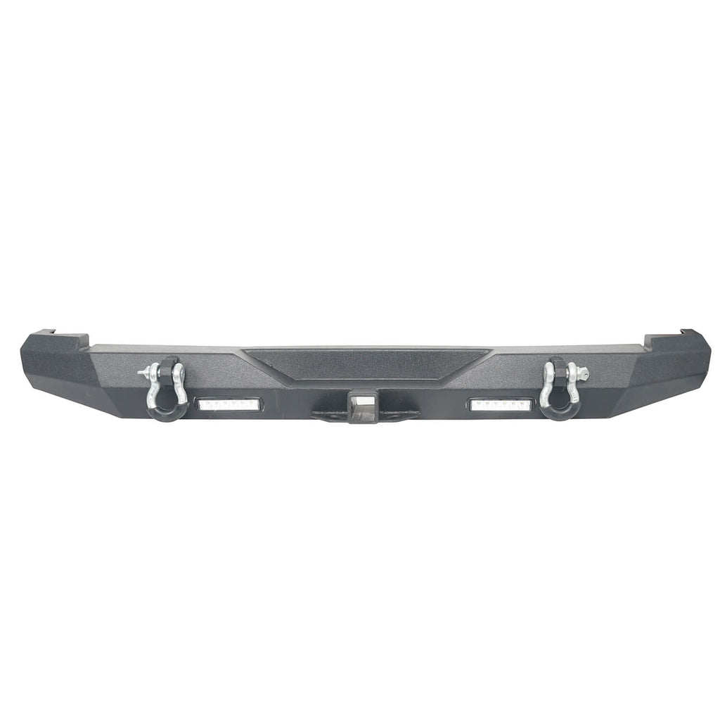 Destroyer Rear Bumper w/2 ×18W LED Floodlights for Jeep Cherokee XJ 1984-2001 BXG321 7