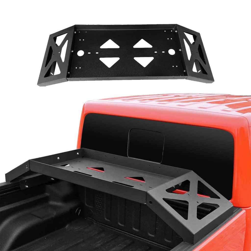Jeep JT Bed Cargo Rack Luggage Storage Carrier for 2020 Jeep Gladiator bxg7005 1