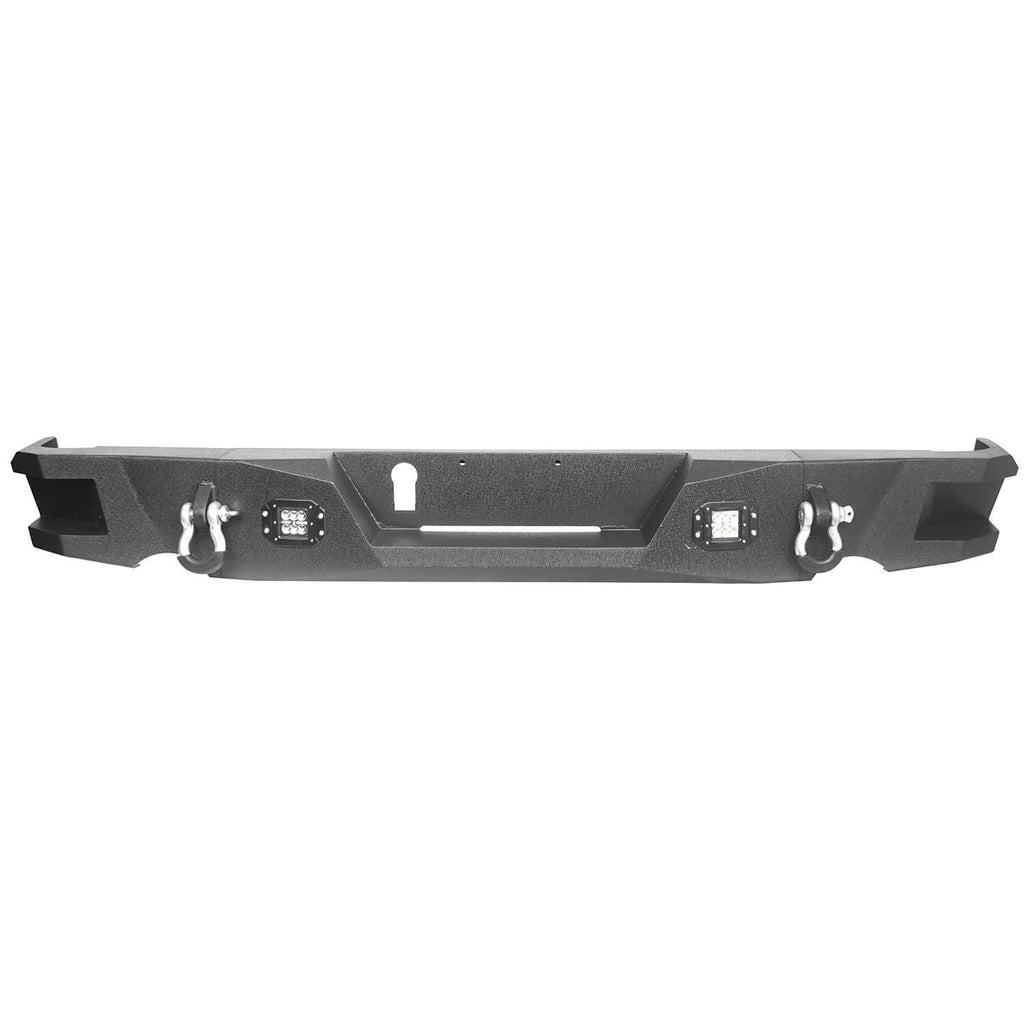 Dodge Ram Front & Rear Bumper Combo for 2013-2018 Dodge Ram 1500 bxg801802 13