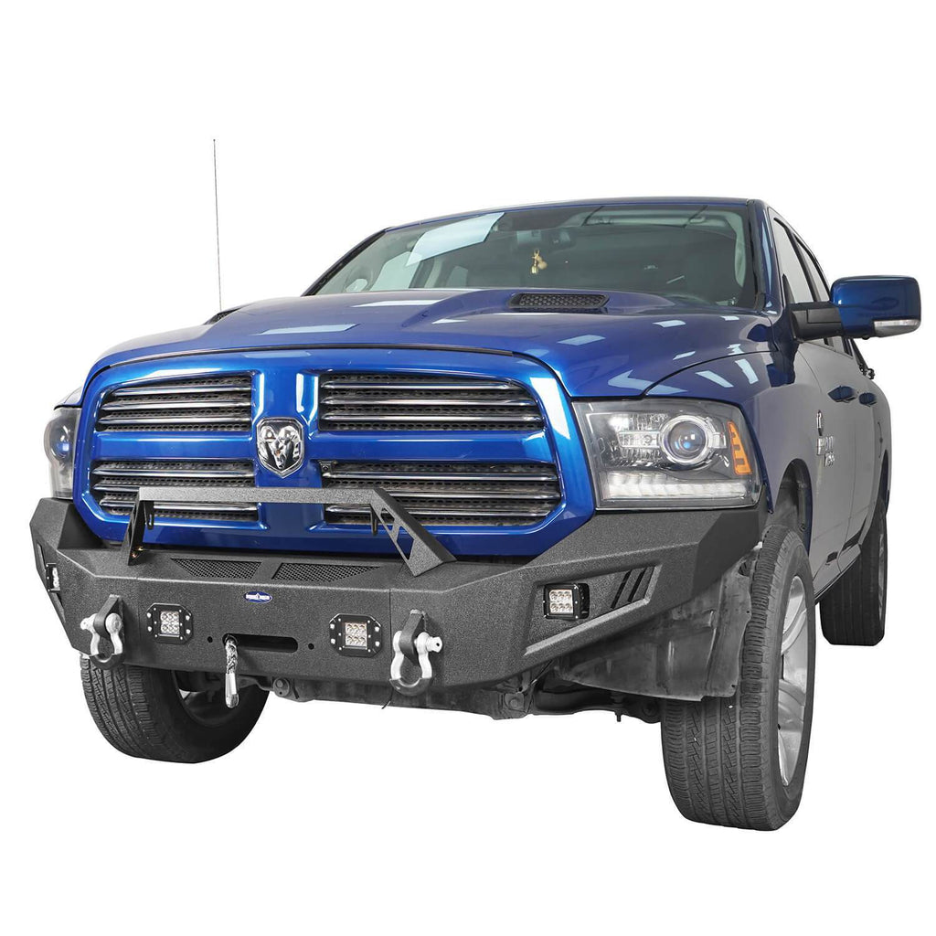Dodge Ram Front & Rear Bumper Combo for 2013-2018 Dodge Ram 1500 bxg801802 4