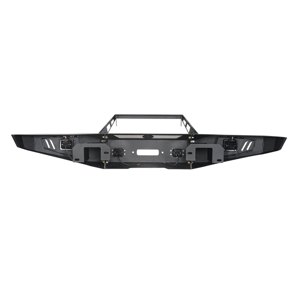 Full-Width Front Bumper & Rear Bumper Back Bumper(09-14 Ford F-150, Excluding Raptor)