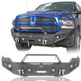 Full WidthFront Bumper & Rear Bumper(13-18 Dodge Ram 1500 ,Excluding Rebel)