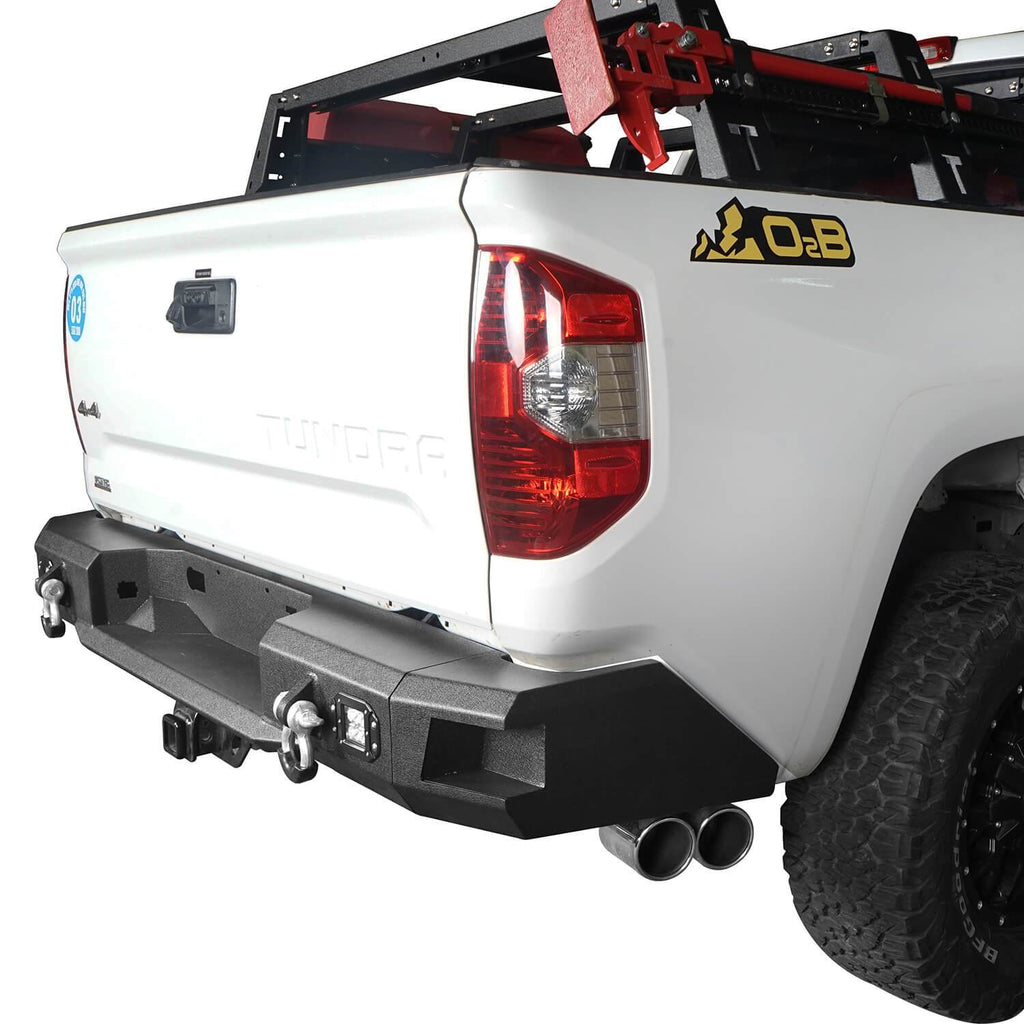 Front Bumper / Rear Bumper / Roll Bar Bed Rack(14-21 Toyota Tundra)